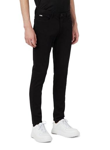 Emporio Armani  Extra Slim Fit Pamuklu J11 Jeans Erkek Kot Pantolon S 6H1J11 1Dhdz 0005 Siyah